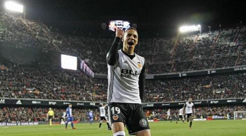 רודריגו חוגג את שער הניצחון (La Liga)