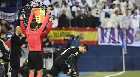 נאצ'ו נכנס למשחק במקום ואייחו (La Liga)