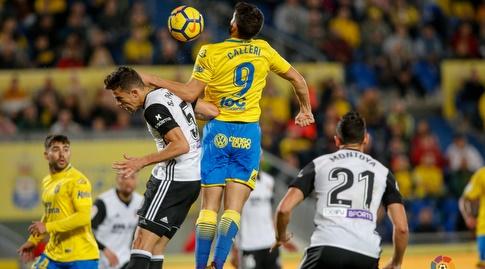 ג'ונתן קאלרי מקדים את גבריאל פאוליסטה (La Liga)