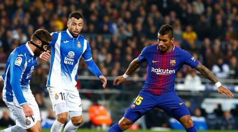 פאוליניו מול שחקני אספניול (La Liga)