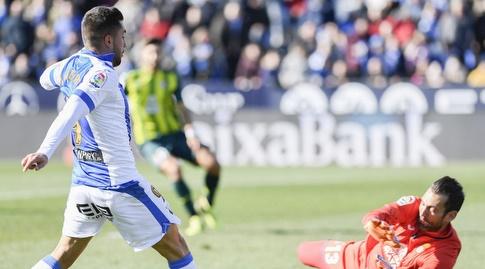 מיגל אנחל גררו מול דייגו לופס (La Liga)