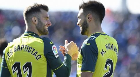 מארק נבארו עם לאו בפטיסטאו (La Liga)