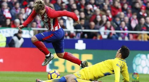 גריזמן עם הכדור (La Liga)
