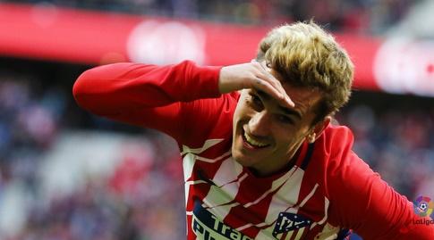 אנטואן גריזמן חוגג (La Liga)