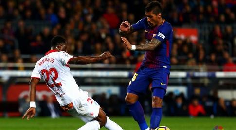 ווקאסו מתקל את פאוליניו (La Liga)