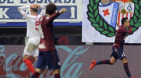 פביאן אוריאנה עם צמד (La Liga)