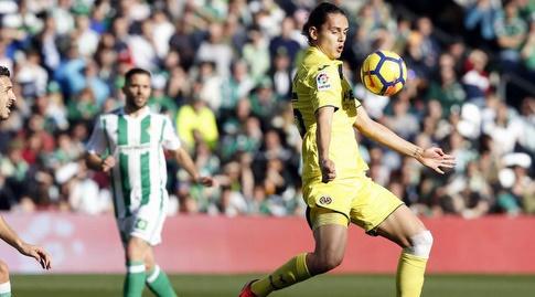 אנס אונאל עוצר על החזה (La Liga)