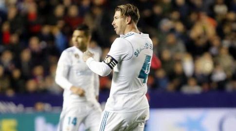 ראמוס וקאסמירו חוגגים (La Liga)