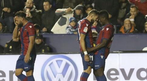 שחקני לבאנטה בטירוף (La Liga)
