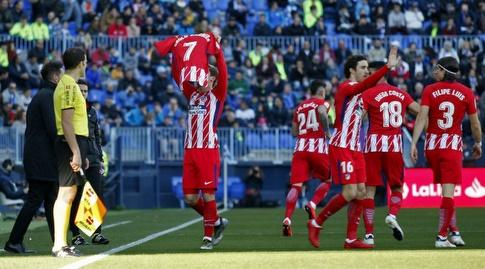 גריזמן חוגג (La Liga)