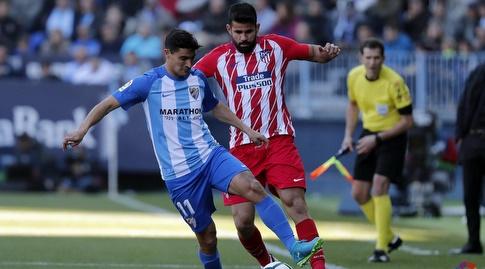 דייגו קוסטה מול צ'ורי קסטרו (La Liga)