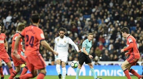 איסקו עם הכדור (La Liga)