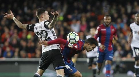 סאנטי מינה ורוברטו סוארס פייר (La Liga)