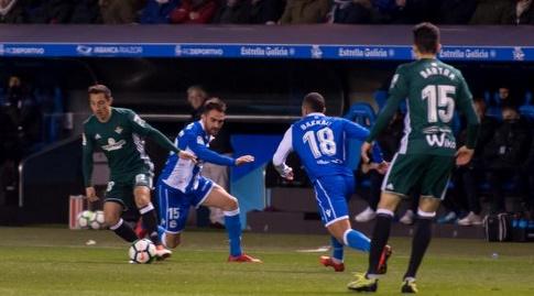 אנדרס גוורדאדו עם הכדור (La Liga)