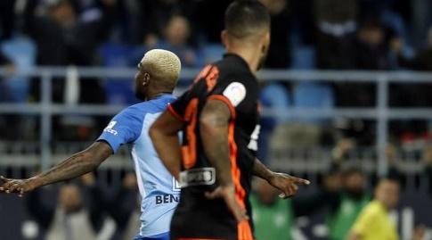 בראון אידייה חוגג את השער (La Liga)