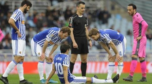 פרייטו לאחר הפציעה. חוסר מזל (La Liga)