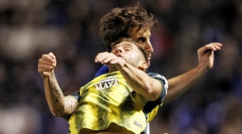לאו בפטיסטאו עולה לכדור גובה (La Liga)