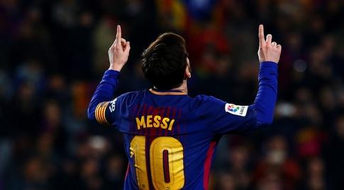 ליאו מסי חוגג שער נפלא (La Liga)