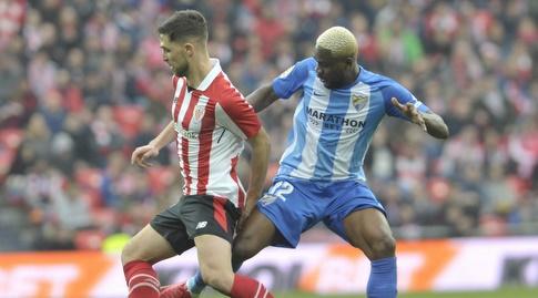בראון אידייה מנסה לחטוף את הכדור (La Liga)