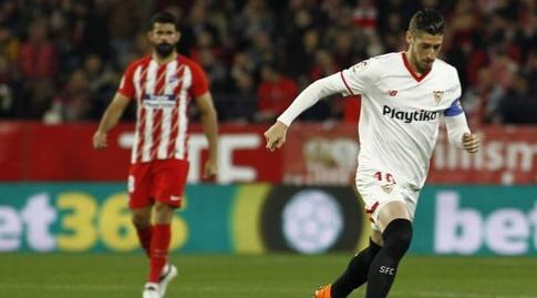 דייגו קוסטה משקיף על אבר באנגה (La Liga)