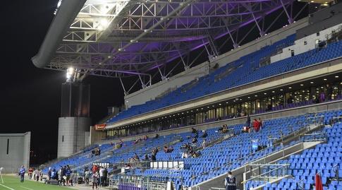 אצטדיון נתניה. הפך לבית של החדרתים (נעם מורנו)