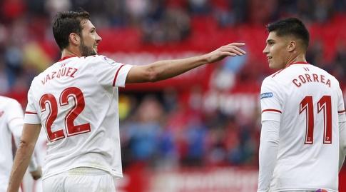 חואקין קוראה ופרנקו ואסקס מאושרים (La Liga)