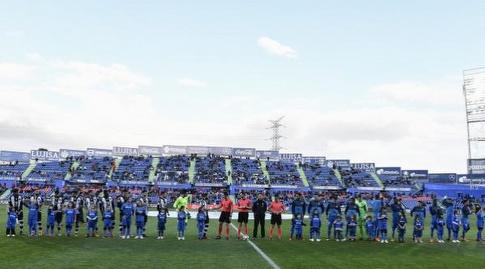 שתי הקבוצות לפני המשחק (La Liga)