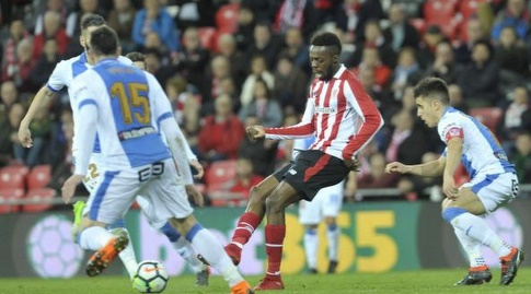 איניאקי וויליאמס בין שחקני לגאנס (La Liga)