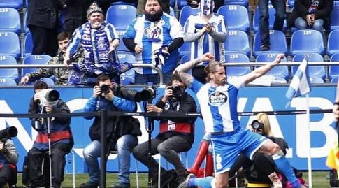 ראול אלבנטוסה חוגג (La Liga)