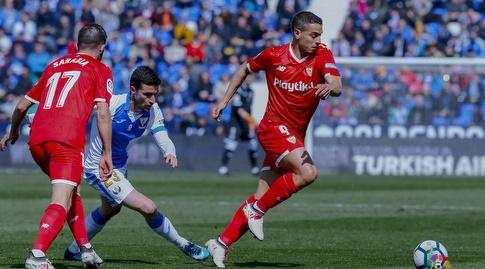 וויסאם בן ידר חולף על פני אומאר ראמוס (La Liga)