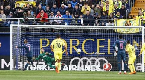 גריזמן מכניע את אסנחו מ-11 מטר (La Liga)