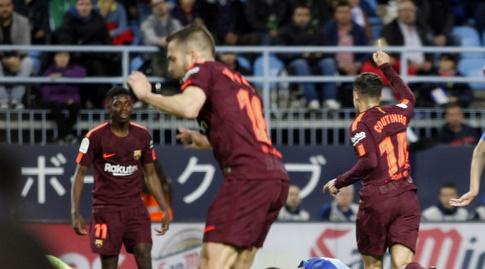 קוטיניו חוגג (La Liga)