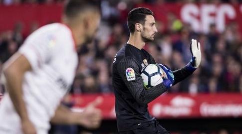 סרחיו ריקו עם הכדור (La Liga)