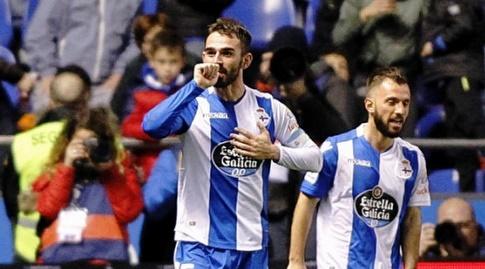 אדריאן לופס חוגג (La Liga)
