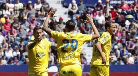שחקני לאס פלמאס. רוצים להינצל (La Liga)