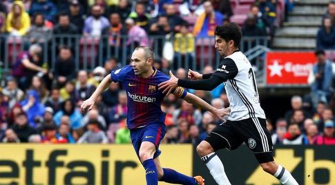 אנדרס אינייסטה מקדים את חוסה לואיס גאיה (La Liga)