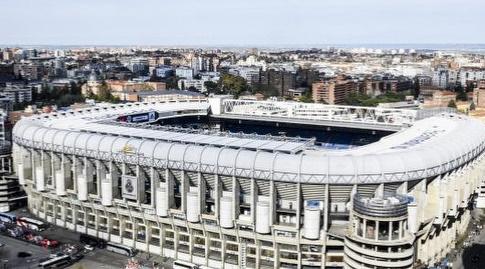 אצטדיון סנטיאגו ברנבאו. לא יזכה למנוחה בשבוע הזה (La Liga)