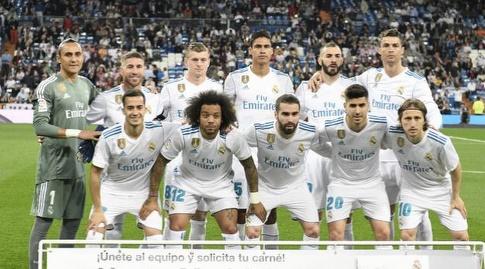 תמונה קבוצתית, ריאל מדריד (La Liga)