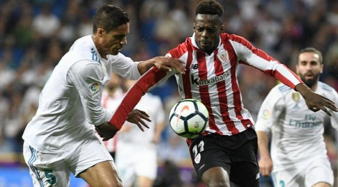 רפאל וראן נאבק עם איניאקי וויליאמס (La Liga)