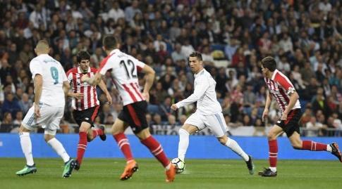 כריסטיאנו רונאלדו מחפש את השער (La Liga)