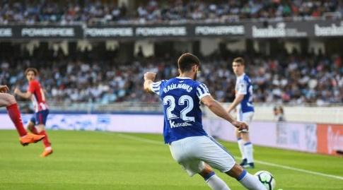 ראול נבאס עם הכדור (La Liga)