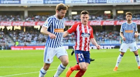 קווין גאמירו משגיח על אסייר אייראמנדי (La Liga)