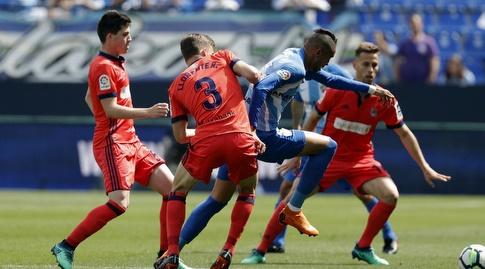 דייגו יורנטה מנסה לחטוף (La Liga)