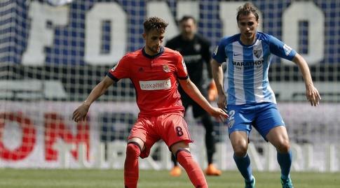 עדנאן יאנוזאי שומר על הכדור (La Liga)