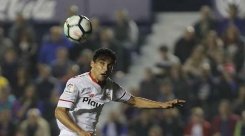 חסוס נבאס עולה לנגיחה (La Liga)