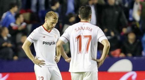 פאבלו סראביה ויוהאנס גאייס מאוכזבים (La Liga)