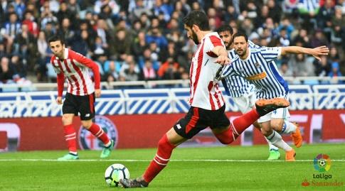 ראול גארסיה כובש בפנדל (La Liga)