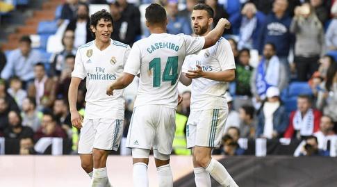ואייחו וקאסמירו חוגגים עם בורחה מיוראל (La Liga)