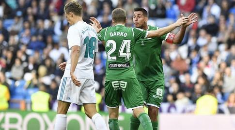 דרקו ברשנאץ וגבריאל פירש חוגגים (La Liga)