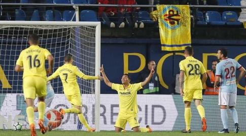 קרלוס באקה חוגג (La Liga)